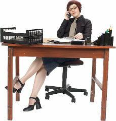 Einstellungstest für Sekretärin