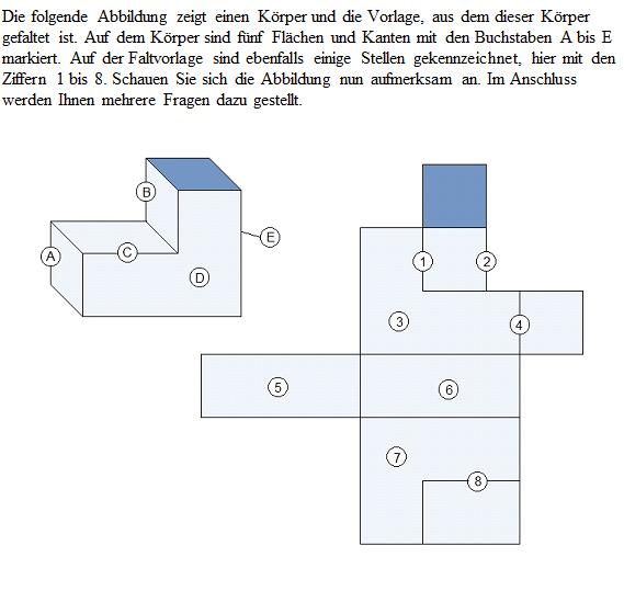 Einstellungstest 2, Kreatives Denken, Frage 31-35