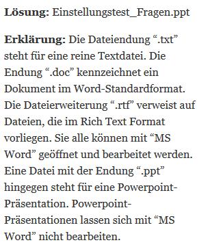 76 it und edv test - Deichmann Bewerbung