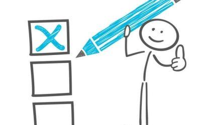 Checkliste: Wichtiges zum Einstellungstest