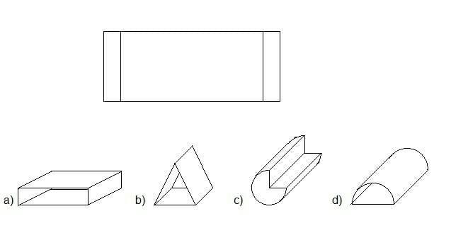 Einstellungstest 2, Visuelles Denken, Frage 6