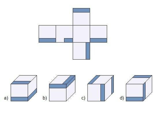 Einstellungstest 2, Visuelles Denken, Frage 8